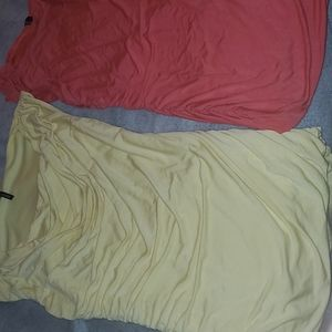 2 Maurices tanks with side rouching, medium